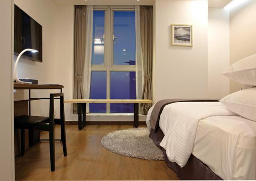 欧克劳德酒店 - 首尔 - 睡房