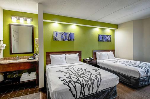斯立普弗雷德里克酒店 - 弗雷德里克 - 睡房
