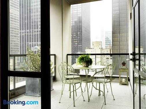 惠特比酒店 - 纽约 - 阳台
