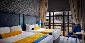 农庄城市酒店 - 伦敦 - 睡房