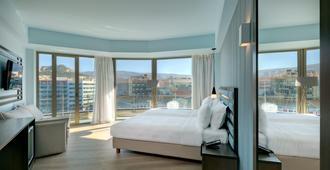 雅典蒂亚雷酒店 - 雅典 - 睡房