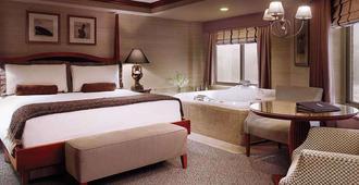 康瑟尔布拉夫斯美洲星赌场酒店 - 康瑟尔布拉夫斯 - 睡房