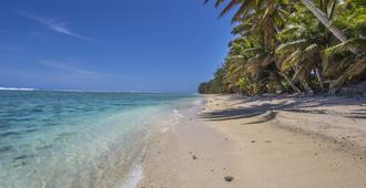 布雷兹泻湖别墅酒店 - 拉罗汤加岛 - 海滩