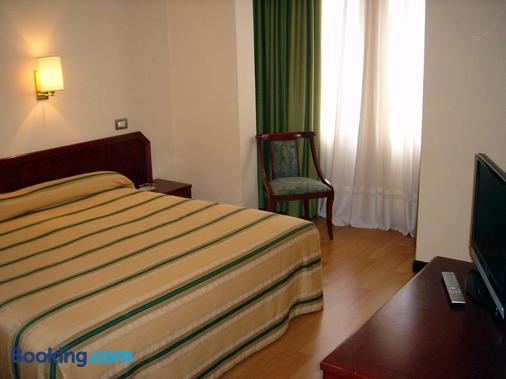 科姆波斯特拉酒店 - 维戈 - 睡房