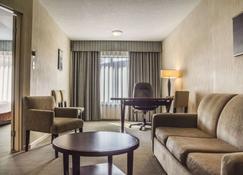 伦敦品质套房酒店 - 伦敦 - 客厅