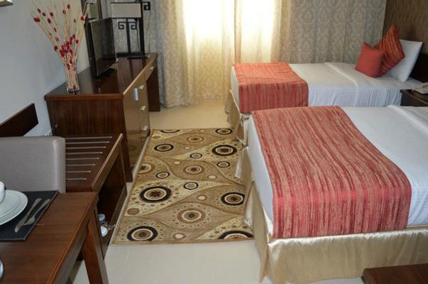Grand Midwest View Hotel Apartments - Al Barsha - 迪拜 - 睡房
