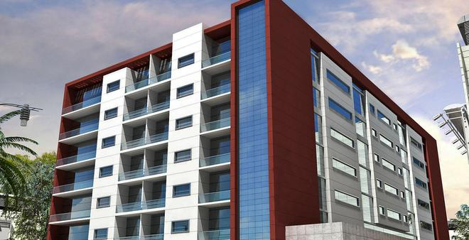 Grand Midwest View Hotel Apartments - Al Barsha - 迪拜 - 建筑