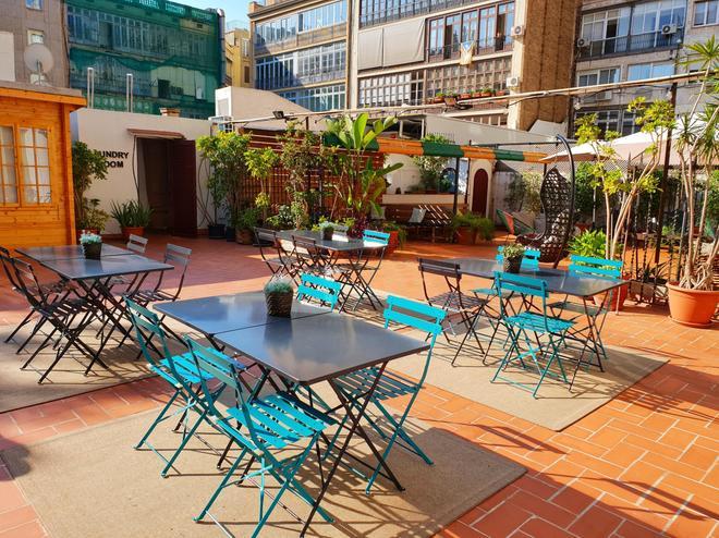 巴塞罗那市中心罗达蒙酒店 - 巴塞罗那 - 露台