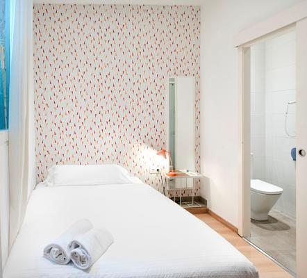 巴塞罗那市中心罗达蒙酒店 - 巴塞罗那 - 睡房