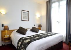 安格勒特里格勒诺布尔中心酒店 - 格勒诺布尔 - 睡房