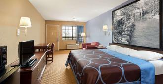 圣安东尼奥/河滨区速8酒店 - 圣安东尼奥 - 睡房