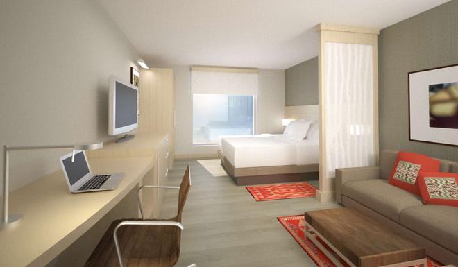 特古西加尔巴凯悦嘉轩酒店 - 特古西加尔巴 - 睡房