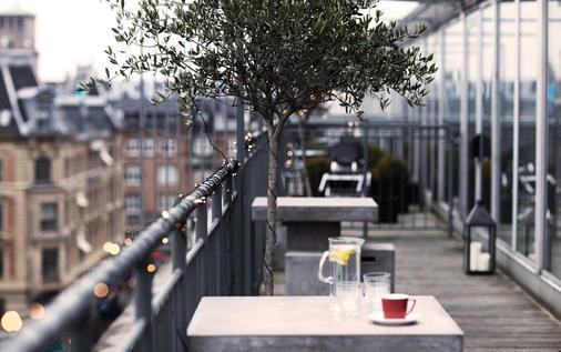 哥本哈根广场酒店 - 哥本哈根 - 阳台