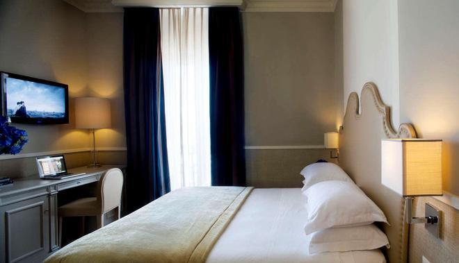 特米努斯星际酒店 - 那不勒斯 - 睡房