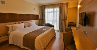 圣波本会议中心酒店 - 桑托斯 - 睡房