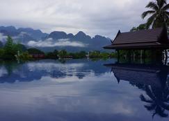 银纳卡酒店 - 万荣 - 户外景观