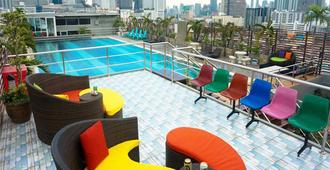 维特楚弯公寓 - 曼谷 - 阳台