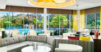 圣地亚哥米申谷万豪春季山丘套房酒店 - 圣地亚哥 - 休息厅
