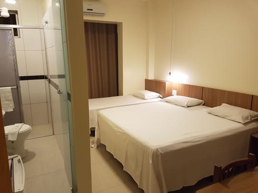 奥夫特广场酒店 - 戈亚尼亚 - 睡房
