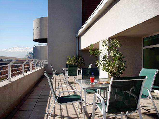 奥林匹克公园诺富特酒店 - 圣地亚哥 - 阳台