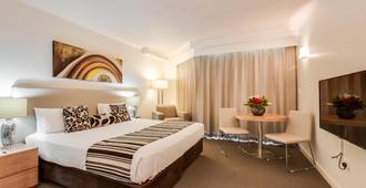 科斯莫中央公寓酒店 - 布里斯班 - 睡房