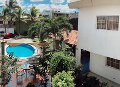 圣塔埃伦娜酒店 - 圣萨尔瓦多 - 游泳池