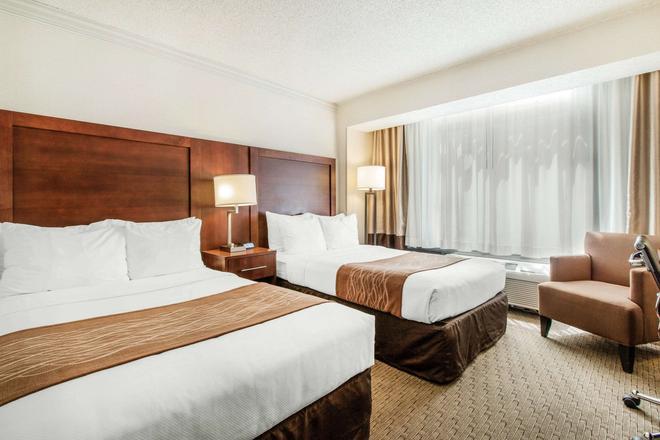 康福德海湾酒店 - 旧金山 - 睡房