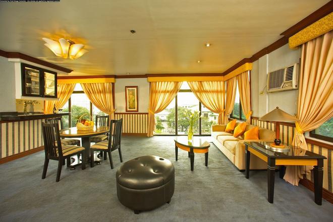 马尼拉美丽华酒店 - 马尼拉 - 客厅