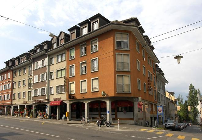 维也里旅行酒店 - 蒙特勒 - 建筑