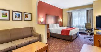休士顿加勒里康福特套房酒店 - 休斯顿 - 睡房