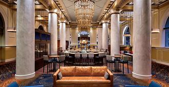 阿尔冈昆签名典藏酒店 - 休斯顿 - 休息厅