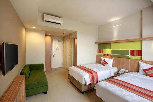 奇利亚雅加达机场酒店 - 当格浪 - 睡房
