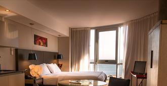 阿苏尔设计酒店 - 蒙得维的亚 - 睡房