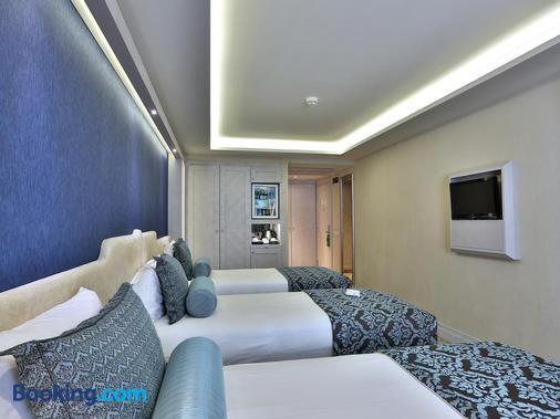 伊斯坦布尔苏黎世酒店 - 伊斯坦布尔 - 睡房