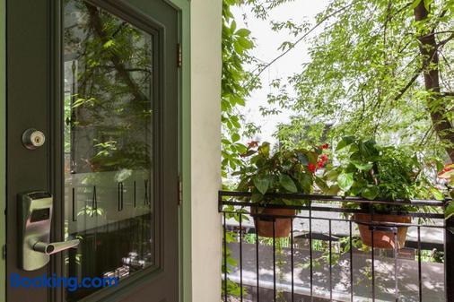 先验酒店 - 魁北克市 - 阳台
