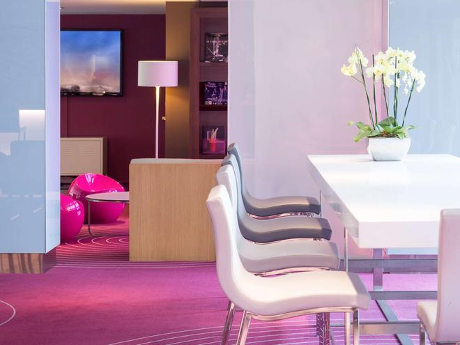 巴黎中心埃菲尔铁塔美居酒店 - 巴黎 - 酒吧
