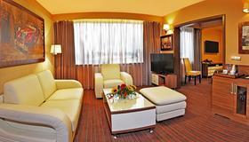 哈斯顿城市酒店 - 弗罗茨瓦夫 - 客厅