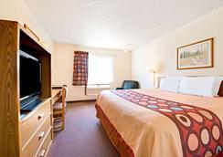 温德姆普莱诺/达拉斯地区速8酒店 - 普莱诺 - 睡房