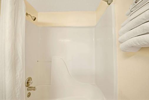 温德姆普莱诺/达拉斯地区速8酒店 - 普莱诺 - 浴室