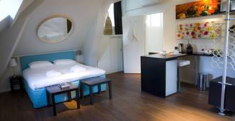 小旅馆 - 鹿特丹 - 睡房