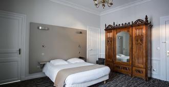 波城中心贝斯特韦斯特酒店 - 波城 - 睡房
