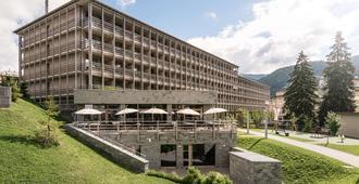 美隆达沃斯瑞士山庄度假酒店 - 达沃斯 - 建筑