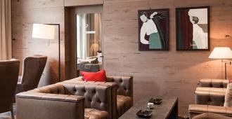 美隆达沃斯瑞士山庄度假酒店 - 达沃斯 - 客厅