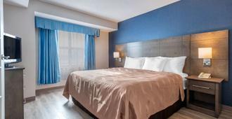 魁北克市品质酒店 - 魁北克市 - 睡房
