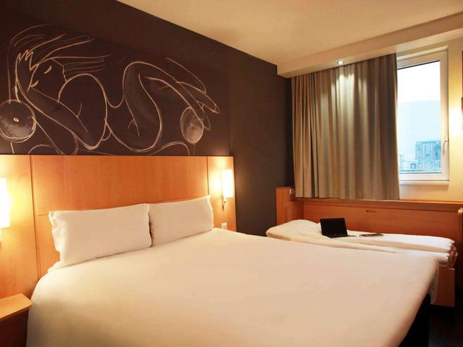 宜必思酒店-斯科普里市中心 - 斯科普里 - 睡房