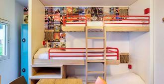亚维侬市中心克丁 TGV 车站 F1 酒店(翻新) - 阿维尼翁 - 睡房