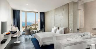 博德鲁姆海滩瑞士度假酒店 - 博德鲁姆 - 睡房
