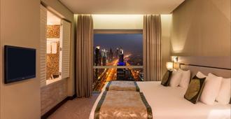 迪拜千禧广场酒店 - 迪拜 - 睡房
