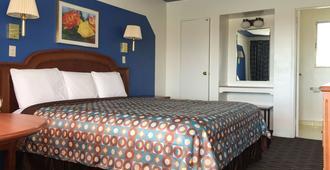 蘭布林玫瑰汽車旅館 - 金曼 - 睡房