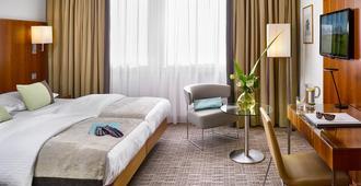 哈拉斯K+K酒店 - 慕尼黑 - 睡房